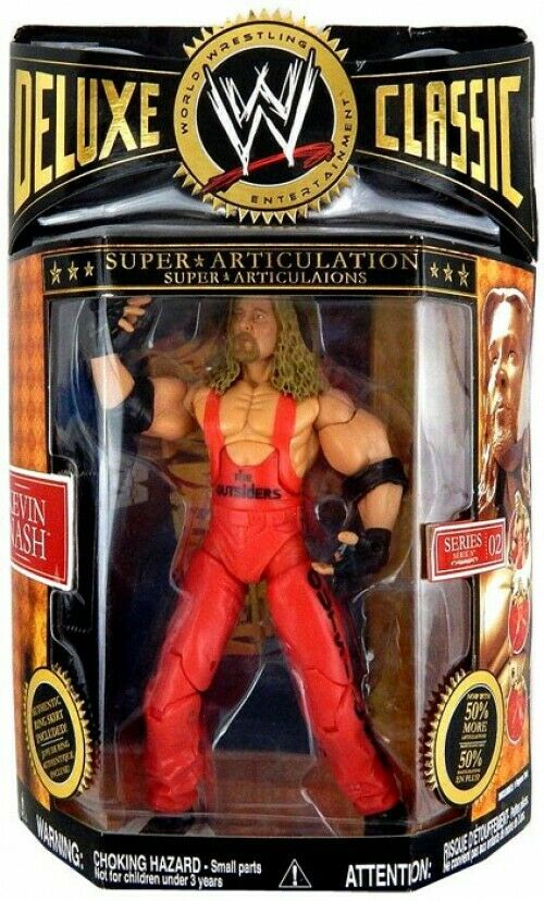 WWE Wrestling Deluxe Classic Superstars Series 2 Kevin Nash Action Figure