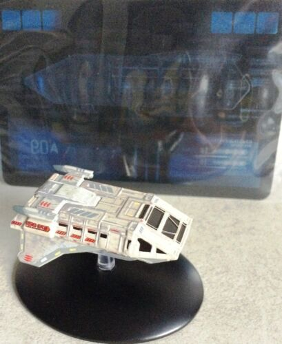 Star Trek navette Set 4-4 pièces-Métal modèle STAR TREK EAGLEMOSS Neuf neuf dans sa boîte en