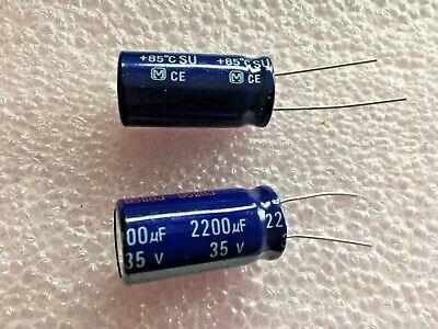 25 pcs 2200uF 35V Electrolytic Capacitor