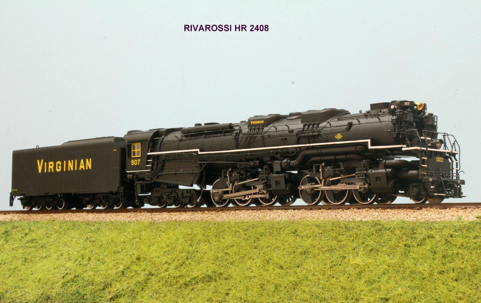 Los mejores precios y los estilos más frescos. RIVAROSSI RIVAROSSI RIVAROSSI HR 2408 Locomotiva a vapore 2-6-6-6 Virginian Rail Road  orden ahora disfrutar de gran descuento