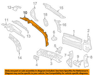 Chevrolet GM OEM 10-16 Equinox Cowl-Side Extension Right 20897364