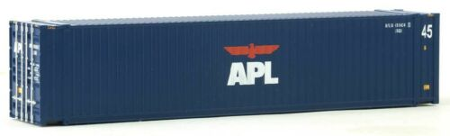 HO Scale 949-8559 Walthers Scenemaster 45/' CIMC APL Intermodal Container