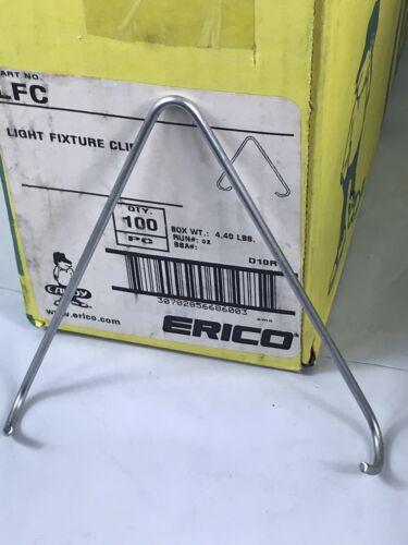 Box Of 125 Erico Caddy LFC Light Fixture Clip READ DESCRIPTION