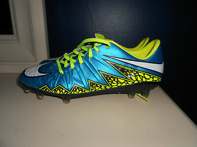 FG Soccer Cleats Blue Yellow