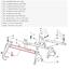 縮圖 2 - BAR Fork Joint Gears Gear Fiat Panda 4x4 - One Original 7582070