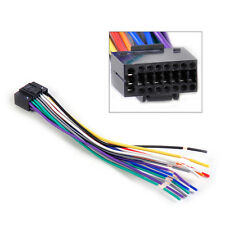 Car Radio Stereo Wire Harness CD Player Plug Cable Cord Kenwood 16 pin Connector