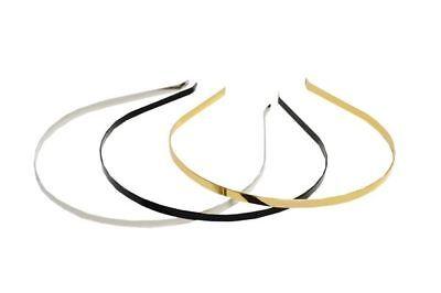 HB013 Headband Narrow Satin For fascinators hats /& craft use