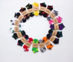 Colourful-Weed-Socks-Gift-Marijuana-Merch-Huf-Unisex-Men-Women-Ankle-Plantlife