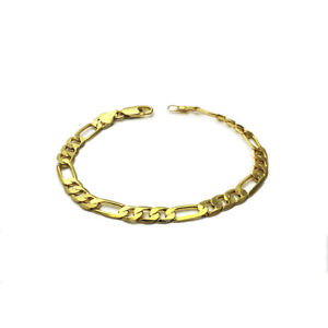Wholesale-Gold-Men-Stainless-Steel-Chain-Bracelet-Wristband-Bangle-Jewelry-P-LD