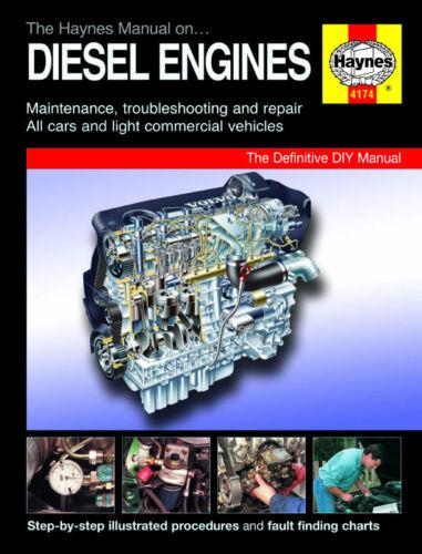 Diesel Engine Haynes Manual 4174 NEW