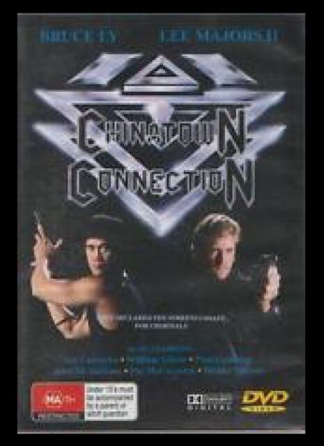 D.V.D MOVIES.DVA535  CHINATOWN  CONNECTION : BRUCE LY , LEE MAJORS II  DVD