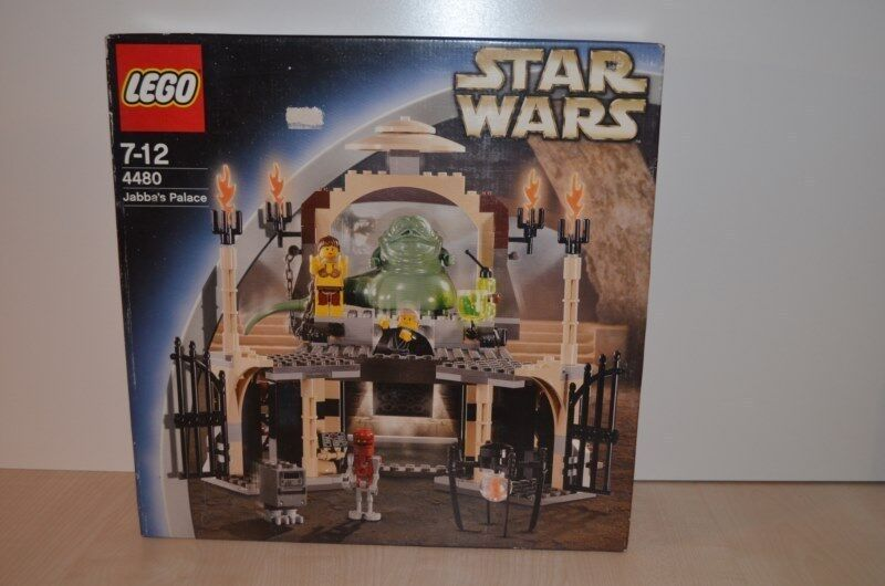00941 LEGO Star Wars Classic - Jabba's Palace 4480 NEW MISB