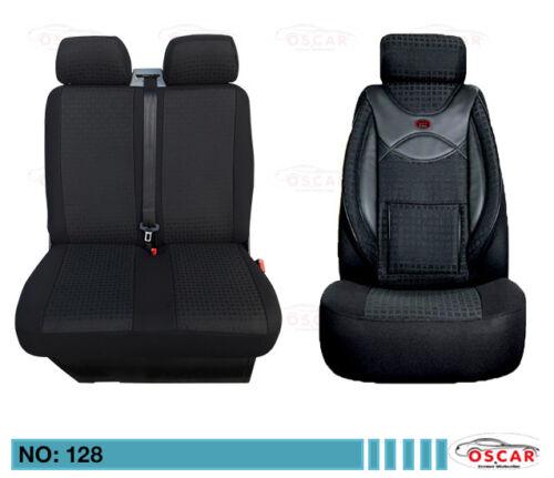 VW LT 28 35 46 MAß Schonbezüge Sitzbezüge Autositzbezüge 1+2 Sitzer 128!
