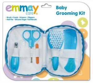 Emmay-Care-Baby-Hair-Grooming-Kit-6-Essential-Pieces-Handy-Pouch-Bag-Brand-New