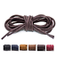 thumbnail 15 - Premium-Cotton-Wax-Shoelaces-Thin-Round-Dress-Waxed-Laces-2-5mm-For-Dress-Shoes
