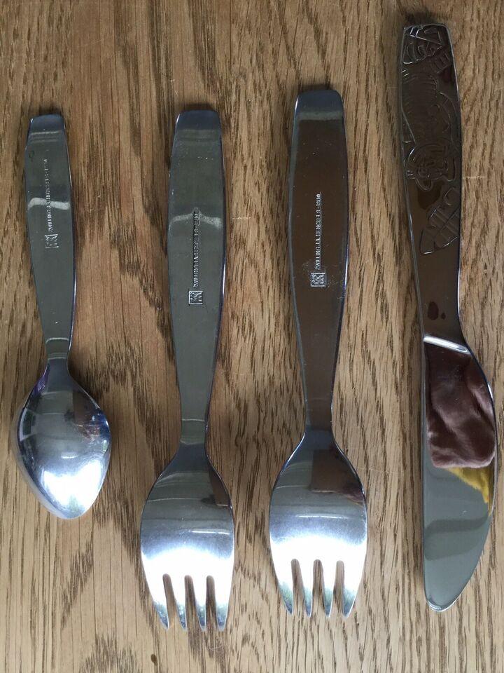 Rustfrit stål, Børnebestik, Jungle/Zwilling/J.A.
