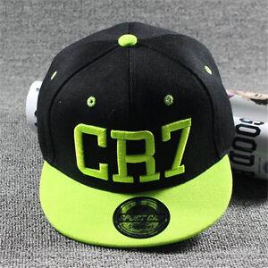 Summer-Kids-Ronaldo-CR7-Baseball-Cap-Hat-Boys-Girls-MESSI-Snapbacks-School-Gift