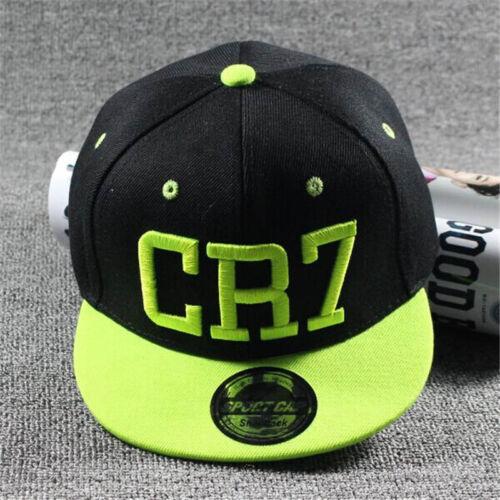 Kids Ronaldo CR7 Baseball Cap Boys Girls Toddler Messi Neymar Boy Snapback Hat