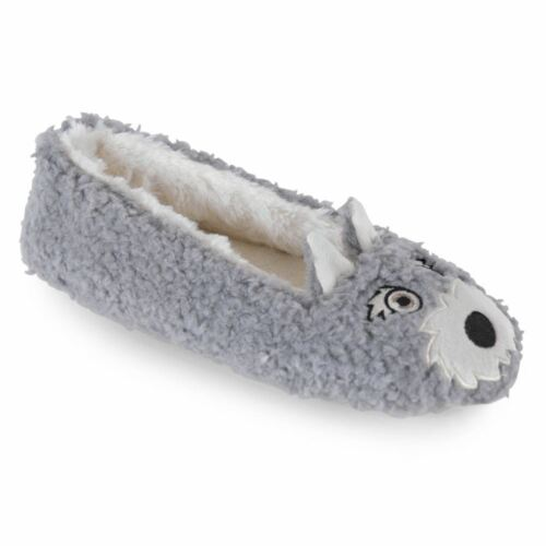 Dog Novelty Slippers Size S 3-4