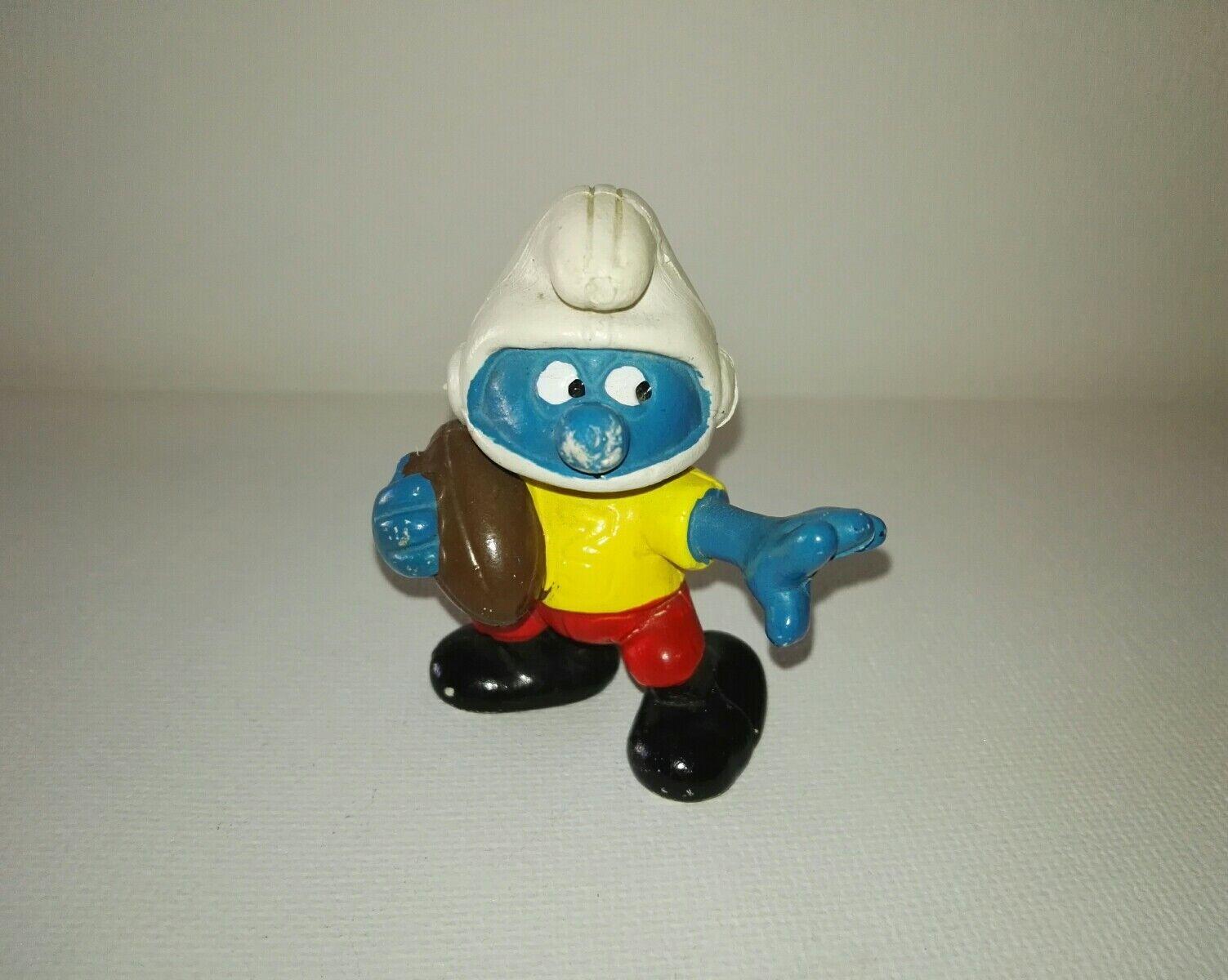 20132 American football Smurf No Toxico Comics Figuras SL Spanish replica