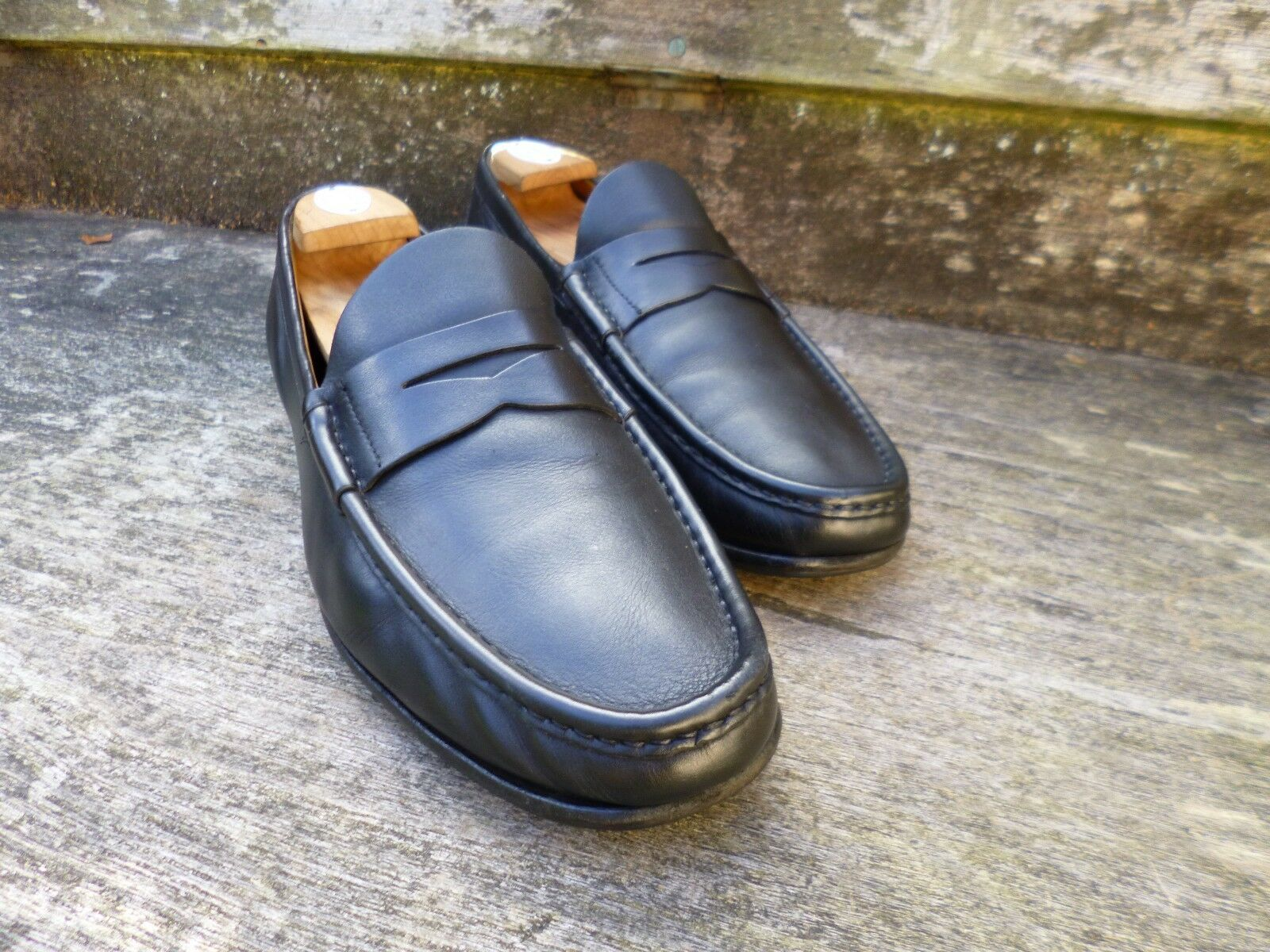 CHURCH LOAFERS – BLACK – UK 8.5 - LIAM – VERY GOOD CONDITION