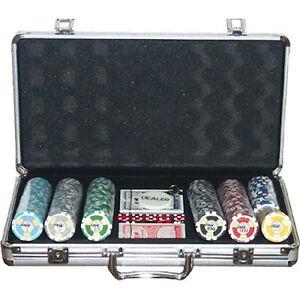 Set completo 300 Fiches Ceramica EPT High Roller European Poker Tour Replica