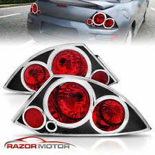 2000 2005 Mitsubishi Eclipse Basegtspyder Altezza Style Black Tail Lights Set Fits 2002 Mitsubishi Eclipse