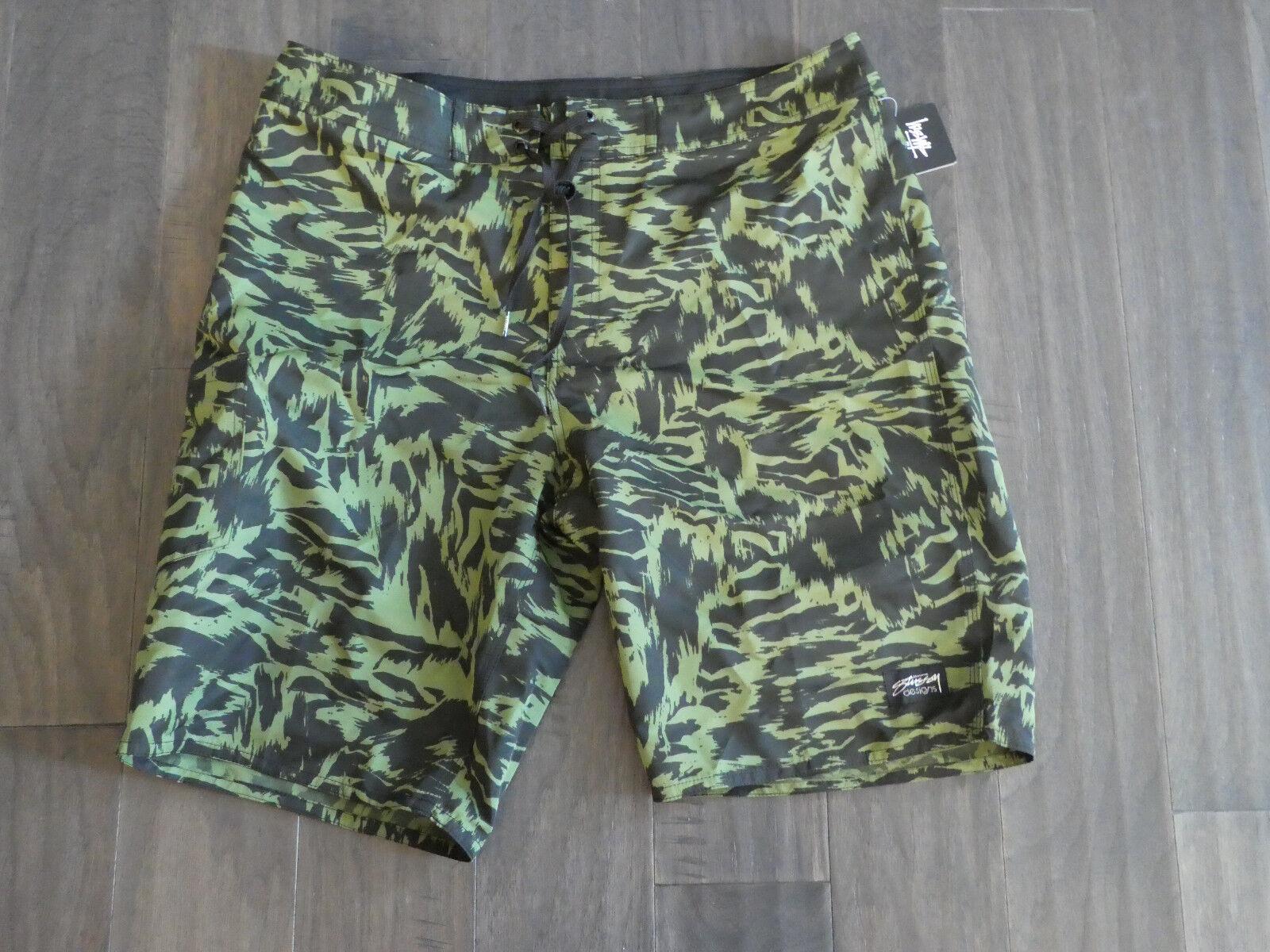 Stussy Animal Trunk long Board shorts swim surf new new men's 101459