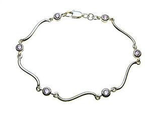 925-Sterling-Silver-bracelet-set-with-sparkling-pink-stones