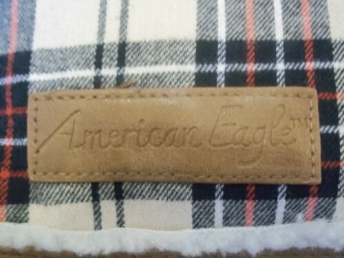 BNWT AMERICAN EAGLE FOR PAYLESS FLANNEL SHERPA PLAID BACKPACK RET $39.99 COOL!!