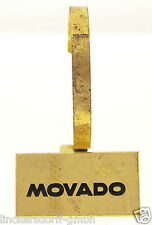 MOVADO - MESSING UHRENSTÄNDER  AUFSTELLER - SCHAUFENSTER - 1940er / 1950er JAHRE