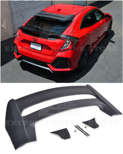 For-16-Up-Honda-Civic-Hatchback-FK4-FK7-JDM-MUGEN-Style-Rear-Roof-Wing-Spoiler