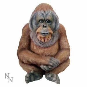 Novelty Gorilla Kong Ape Figurine Statue Ornament Primate Sculpture