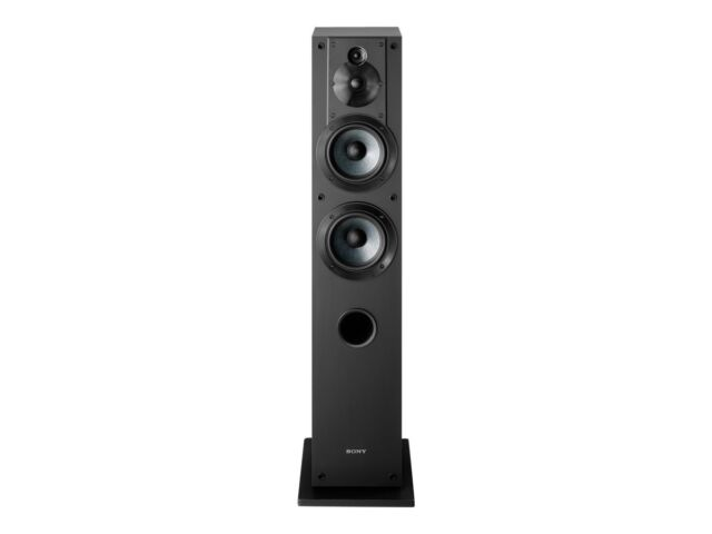 Sony Sscs3 Floor Standing Speaker 2 Units Sony 10 Inch Active