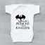 Game of Thrones Stark I/'m Not A Princess Khaleesi Targaryen Baby Grow Bodysuit