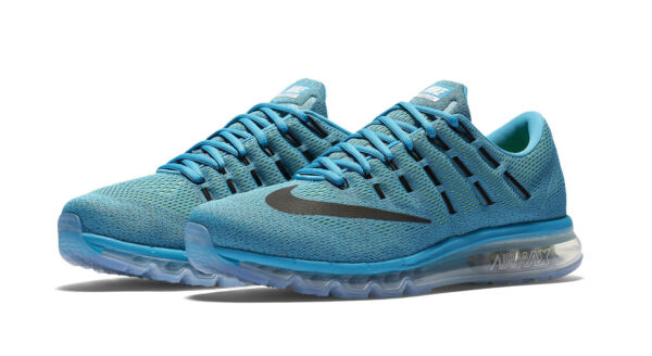 buy online d1d13 28338 Nike Air Max Men s Running Shoes, Size 10 - Blue Lagoon for sale online    eBay