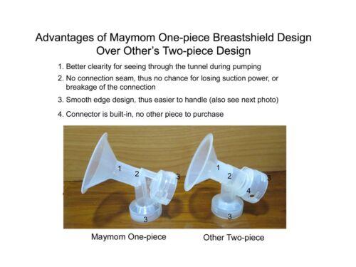 Maymom Brand Medela Breast Pumps Small Breastshield w//Valve and Membrane