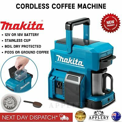 Makita 18v 12v Max Coffee Maker Machine Portable Auto Brew Espresso Skin Ebay