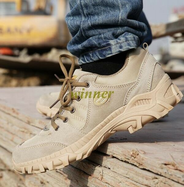 Military Tactical Combat Shoes Men Camo Army Force Lace Up Desert Ankle Boots Sz