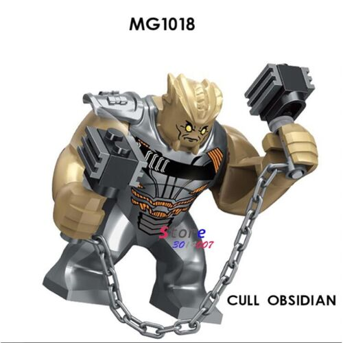 DC Justice League Figures fit Lego Steppenwolf War Ares Thanos Big Minifigures