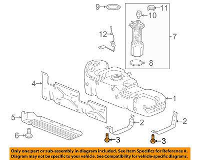 GM OEM Frame-Mount Cushion Mount Bolt 11612148