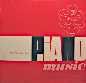 PAUL-PROCOPOLIS-the-world-039-s-best-loves-pianO-LISZT-CHOPIN-BRAHMS-LP-1962-ARC-VG