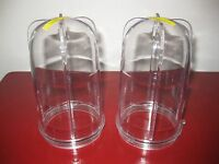 Magic Bullet 2 Tall Cups Brand Genuine Parts No Wait Free Shipping