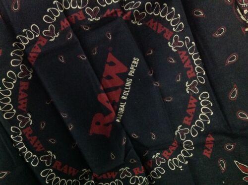Bandana Raw Extra large bandana or raw black woollen hat # raw life