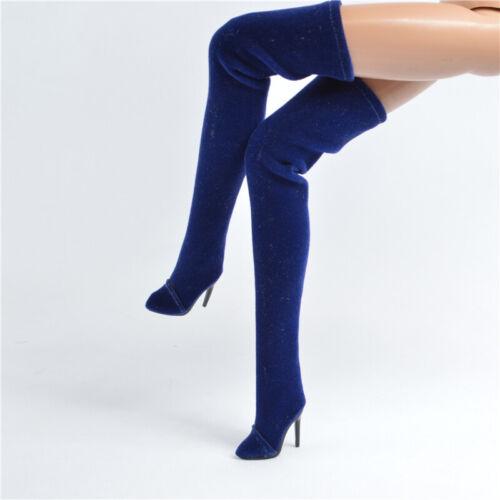 Blue Boots for Fashion royalty FR2 Nu Face 2 poppy parker obitsu 23 27 7FR2-9