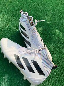 Sz-13-Mens-Adidas-Freak-Ultra-Boost-Primeknit-Football-Cleat-White-EE4665