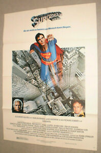 A1 Filmplakat,SUPERMANN DER FILM,CHRISTOPHER REEVE,MARLON BRANDO
