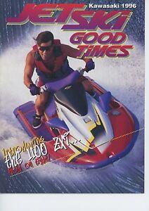 RARE Vintage 1996 Kawasaki Jet Ski Good Times Magazine (IJSBA)