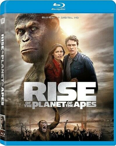 Rise of the Planet of the Apes BLU-RAY NEW