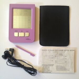 Pink-Touch-Screen-Personal-Digital-Assistant-PDA-Handheld-Personal-Organiser